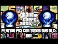 Grand Theft Auto V PS3 Platino 100 DLCs Online Download