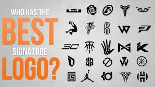 Top 10 Best Basketball Signature Sneaker Logos of ALL-TIME