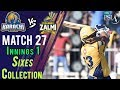 watch Peshawar Zalmi  Sixes   Peshawar Zalmi Vs Karachi Kings    Match 27   15 March   HBL PSL 2018