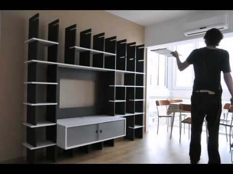 Mueble Biblioteca TV