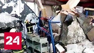 На рухнувшей в Дзержинском крыше завода велись ремонтные работы - Россия 24