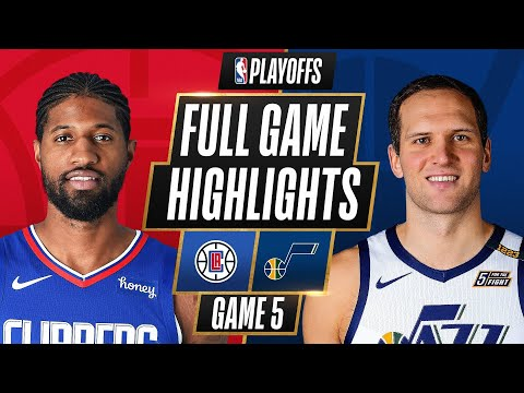 Utah Jazz vs Los Angeles Clippers</a> 2021-06-17