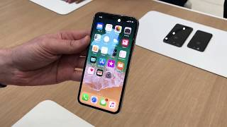 Hands-on look at the iPhone X | Kholo.pk