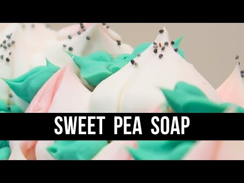 Sweet Pea Soap (+ Russian Piping Tip FAIL) | Royalty Soaps