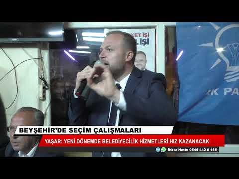 Yaşar: Yeni dönemde belediyecilik hizmetleri hız kazanacak