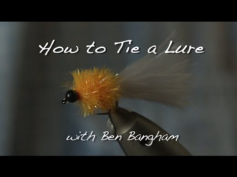 How to Tie a Lure for Winter Stillwater Rainbow Trout