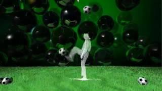 WelcAR - Интерактивный футбол (прототип 720p)