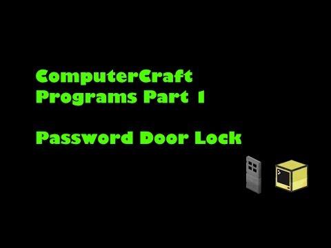 Computercraft Password Door Pastebin