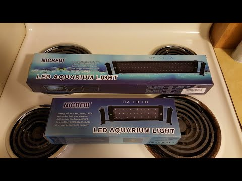 Review and update of Nicrew Led Aquarium Lights