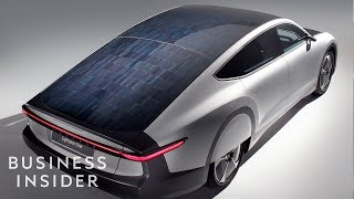 Inside The $170K Solar Car That Drives 500 Miles On One Charge
