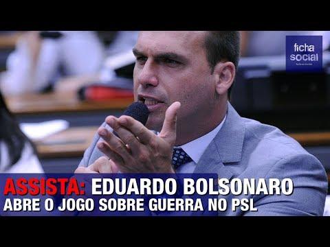 URGENTE: EDUARDO BOLSONARO ABRE O JOGO SOBRE GUERRA NO PSL, 'TRAÍRAS' E PRESIDENTE