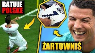 Ronaldo zażartował z KIBICA! Lewandowski ratuje Polskę!