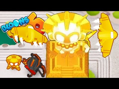 The True Sun God Tier 5 ROUND 100+! - Bloons TD 6 Gameplay