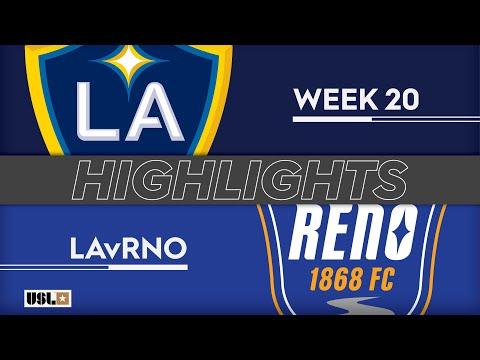 LA Galaxy 2 - Reno 1:2. Видеообзор матча 21.07.2019. Видео голов и опасных моментов игры