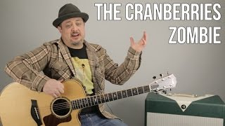 "How to Play ""Zombie"" by The Cranberries on Guitar (Easy Acoustic)"