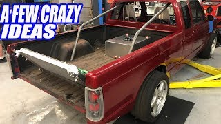 Our AWD Twin Turbo V8 S10 Get Some HUGE FAB HELP! Building The Ultimate Truck Ep.6