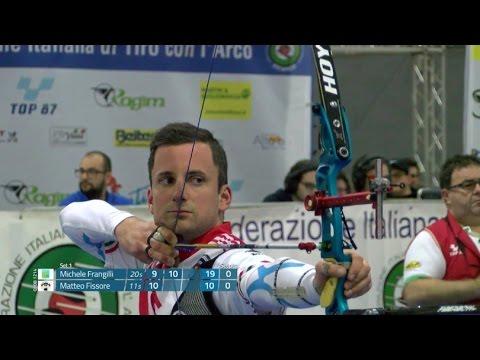 Campionati Italiani Indoor 2017 di Tiro con l'arco - Finale Michele Frangilli - Matteo Fissore