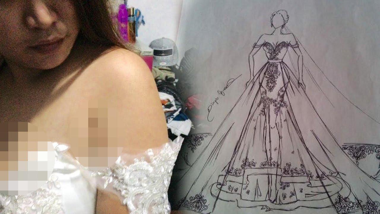 Pesan Gaun Pengantin Seharga Rp 22 Juta ke Desainer ...