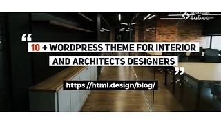 10+ WordPress theme for interior and architects designers