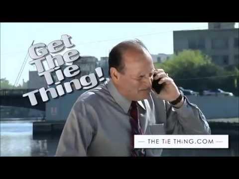 Krawatten-Halter - The Tie Thing ® - Die unsichtbare & dezente Krawattennadel!