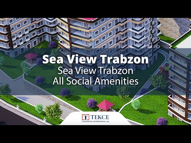 Family Apartments in Trabzon Close to All Social Amenities