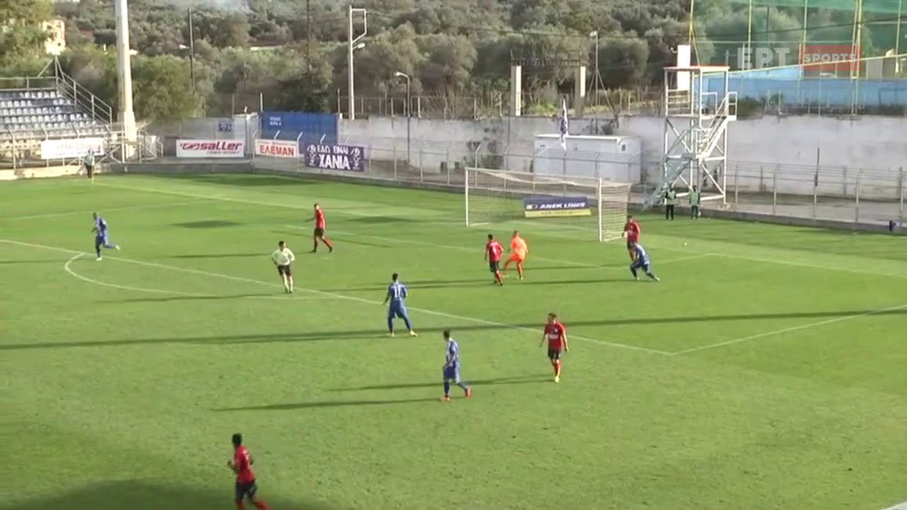 "Super League 2 | Χανιά – Τρίκαλα: Ανατροπή 1-2 μέσα σε 94"" οι φιλοξενούμενοι | 07/02/21 | ΕΡΤ"