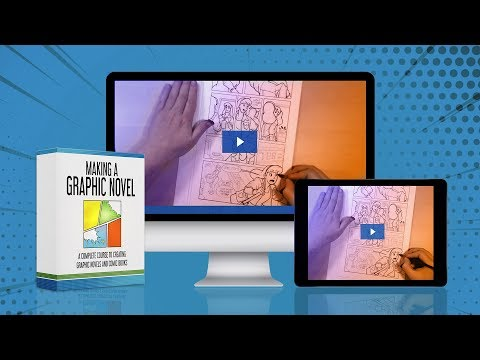 NEW COURSE - Making a Graphic Novel - YouTube