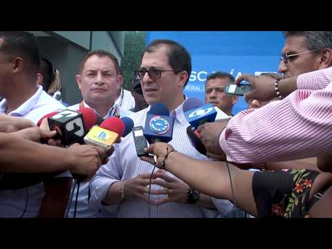 Fiscal General de la Nación llegó a Buenaventura (Valle del Cauca)