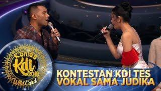 Deg Degan! Kontestan KDI Tes Vokal Langsung Sama Judika - WildCard KDI (19/8)