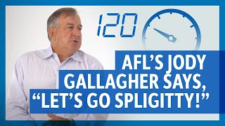120 Seconds Jody Gallagher, CEO, AFL