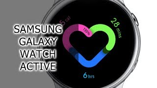 Смарт-часы Samsung Galaxy Watch Active Gold (SM-R500NZDA) от компании Cthp - видео 3