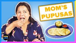 Salvadoran Moms Try Each Other's Pupusas
