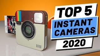 Top 5 BEST Instant Camera of [2020] | Best Polaroid Camera