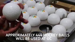 Making the GC2018 Hockey Ball