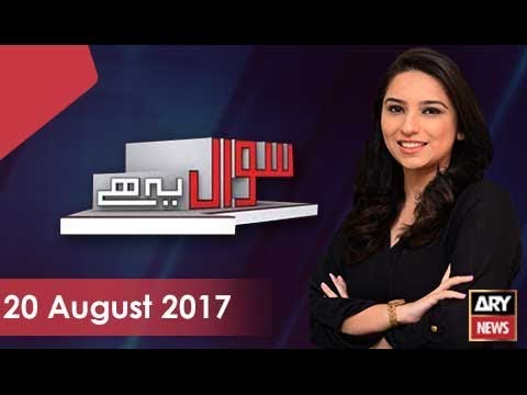 Sawal Yeh Hai 20th August 2017-Speaker NA should not file reference on behalf of a political party