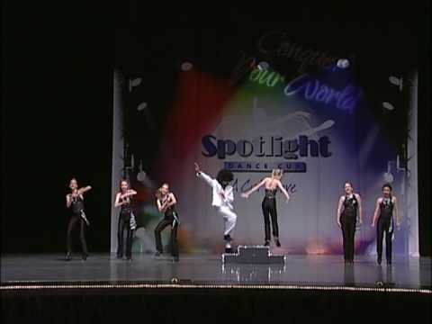 Alex Greenlee Tap Dances in Boogie Shoes Spotlight Competition