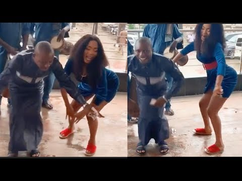 Actress Bukola Adeeyo And Actor Okele Dance Moves Will Make You Laugh So Hard