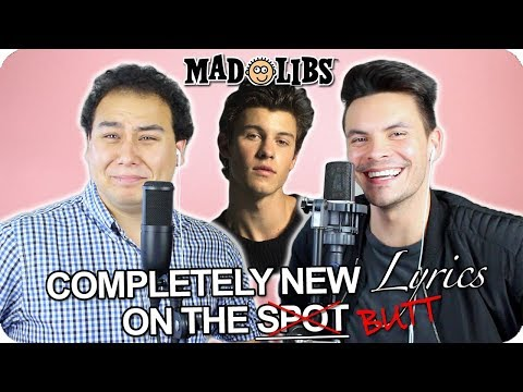 "Shawn Mendes - ""If I Can't Have You"" MadLibs Cover (LIVE ONE-TAKE)"