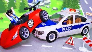 Видео для детей с игрушками Плеймобил  – Неуловимый Бобби. Мультики с игрушками