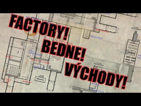 Escape from Tarkov - Factory mapa, BEDNE, VÝCHODY!