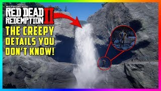 There Is A DARK/CREEPY Secret Hidden Behind This Waterfall You Don't Know In Red Dead Redemption 2!