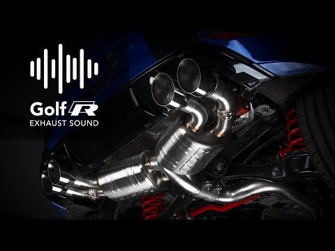 APR MK7 Golf R Catback Sound Demo