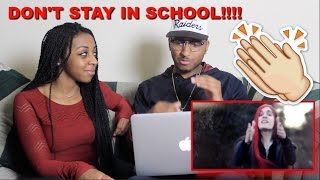 Couple Reacts : Don't Stay in School by BoyInABand Reaction!!!