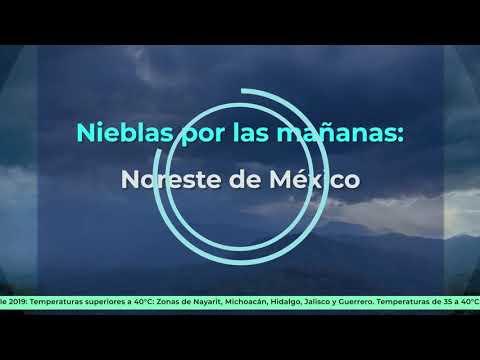 Prevén fin de semana cálido a caluroso en gran parte de México