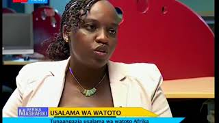 Usalama wa watoto -Afrika mashariki