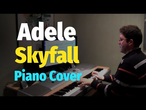 Skyfall - Adele (James Bond 007 Theme Song) - Piano Arrangement and Piano Cover