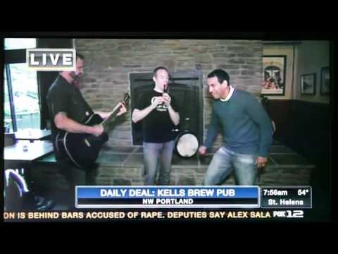 05/16/13 - Coming Up Threes at Kells Brew Pub on Good Day Oregon