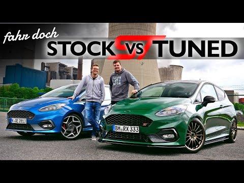 FORD FIESTA ST 2019 mit P1TV |  STOCK oder TUNED ? Welcher ist der bessere? Fahr doch