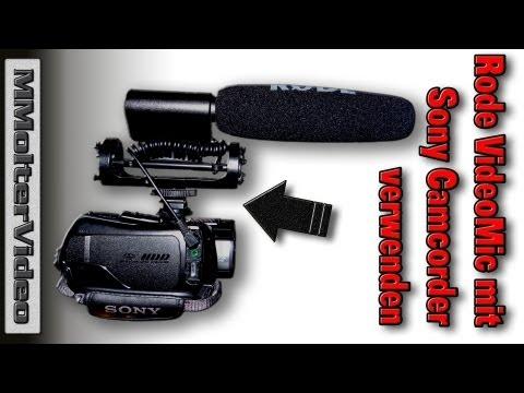 Rode VideoMic mit Sony Camcorder verwenden - Aber wie? Zuschauerfrage an MMolterVideo