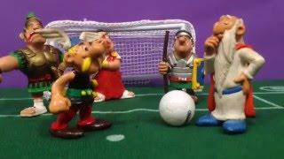 Asterix juega al fútbol: GALOS contra ROMANOS